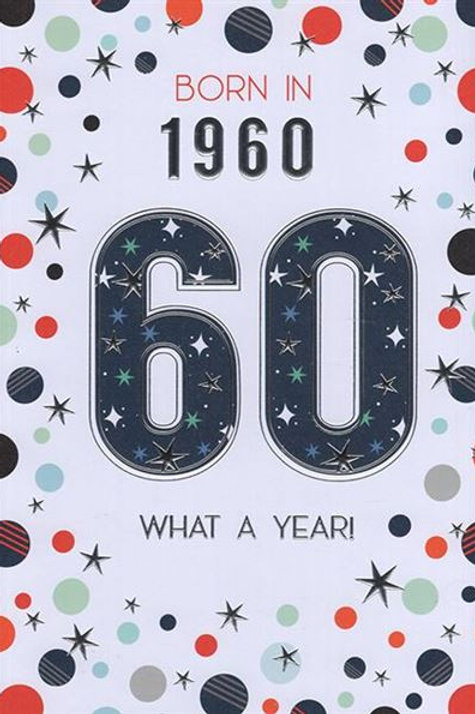 IC&G 60th Male Year You Were Born
