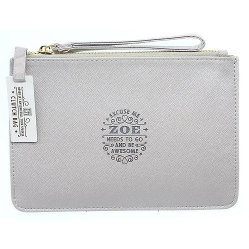 Personalised Clutch Bag - Zoe