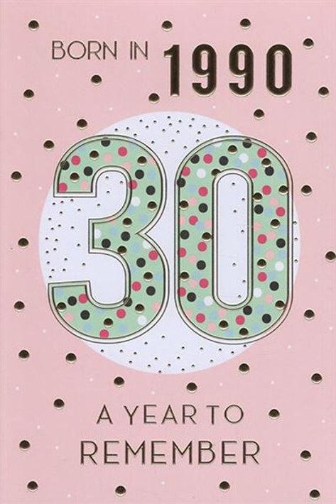 IC&G 30th Female Year You Were Born