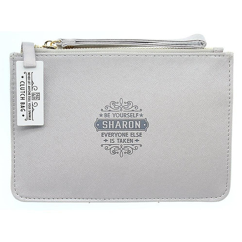 Personalised Clutch Bag - Sharon
