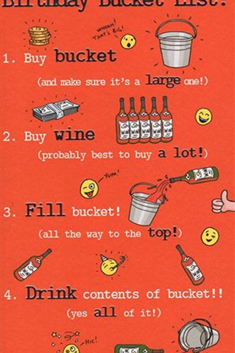 Just a Laugh - Bucket List