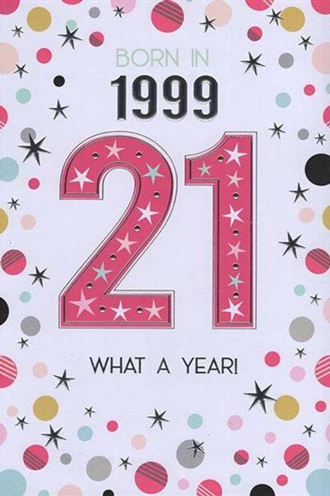 IC&G 21st Female Year You Were Born