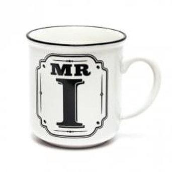 Alphabet Mugs - Mr I