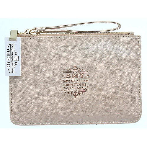 Personalised Clutch Bag - Amy