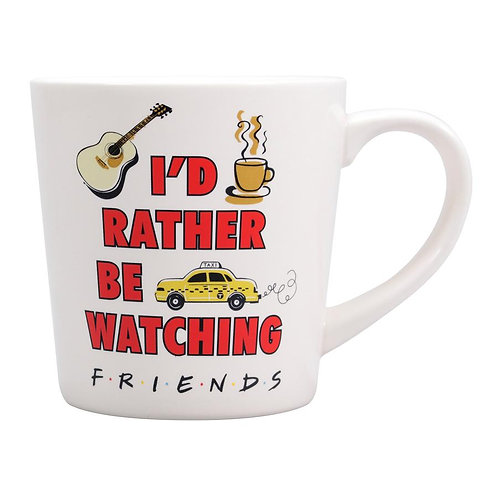 Friends Tapered Mug - I'd Rather Be Watching Friends