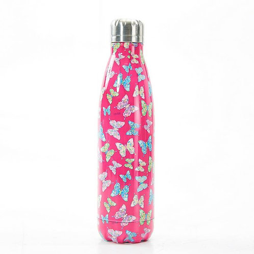 Fuchsia Butterfly Thermal Bottle