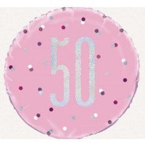 50th Birthday Foil Balloon