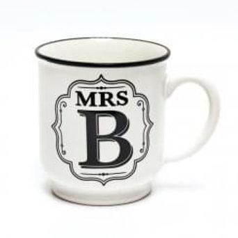 Alphabet Mugs - Mrs B