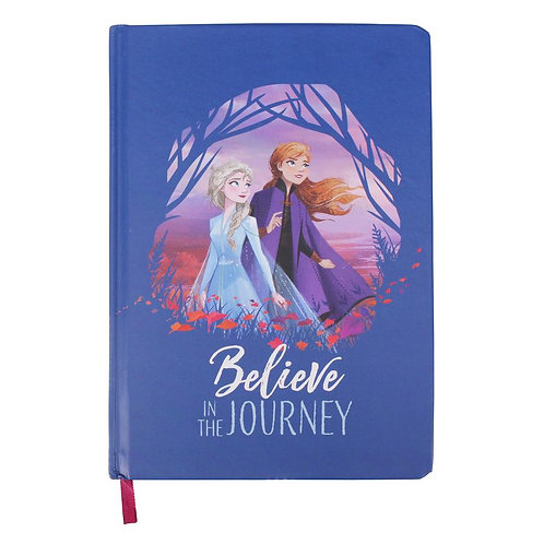 Frozen 2 A5 Notebook - Journey