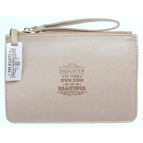 Personalised Clutch Bag - Daughter