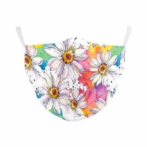 Flowers Reusable Face Mask