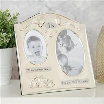 Milestone Double Birthday Frames