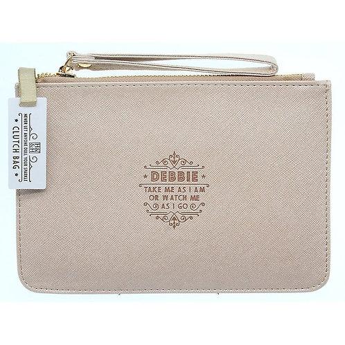 Personalised Clutch Bag - Debbie