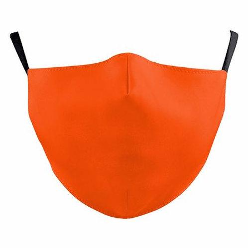 Classic Orange Reusable Face Mask