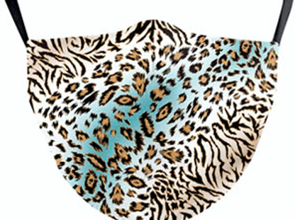 Cool Leopard Print Reusable Face Mask