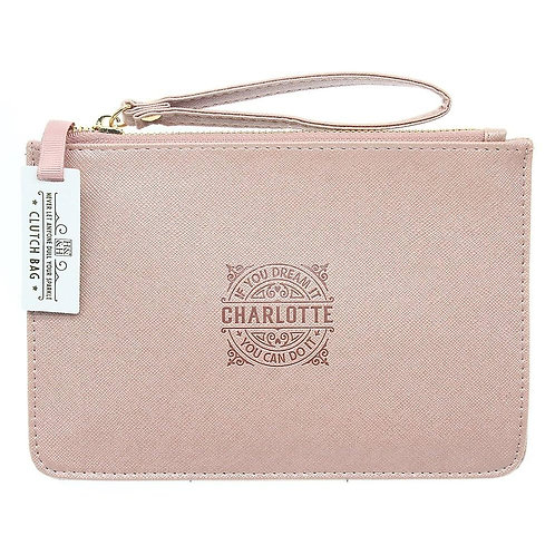 Personalised Clutch Bag - Charlotte
