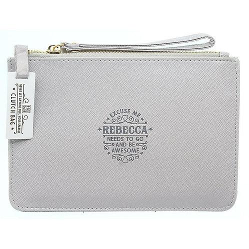Personalised Clutch Bag - Rebecca