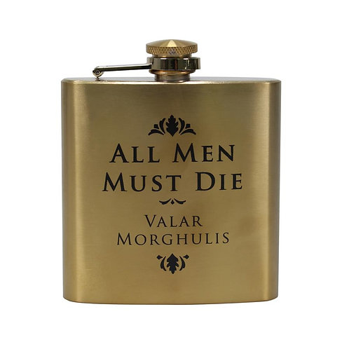 Game of Thrones Hip Flask - All Men