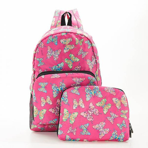 Fuchsia Butterfly Backpack