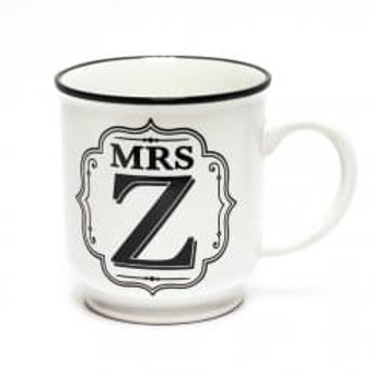Alphabet Mugs - Mrs Z