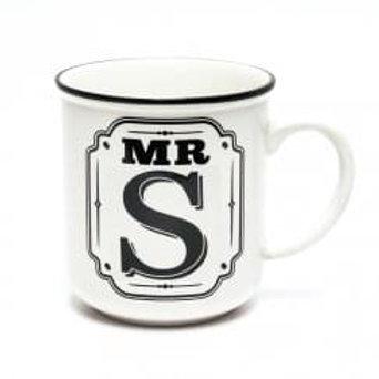 Alphabet Mugs - Mr S
