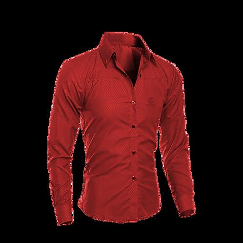 Camisa Social - Vermelha