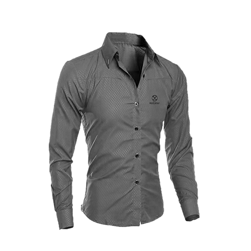 Camisa Social - Cinza