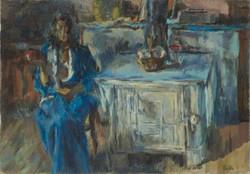 Annie en bleu