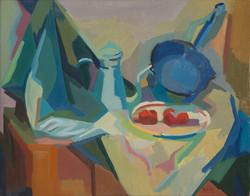 La casserole bleue