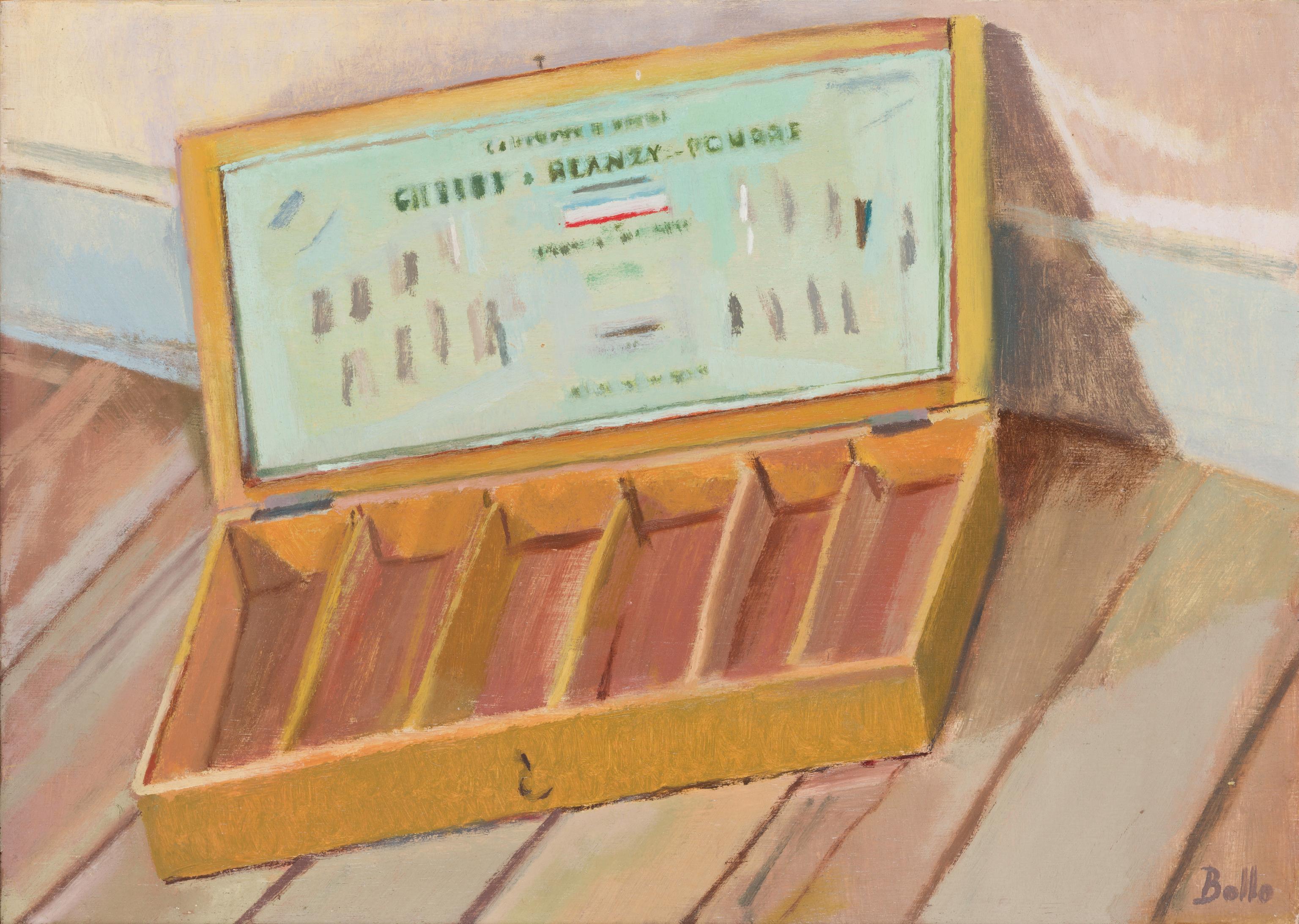 Boîte de plumes Blanzy-Poure