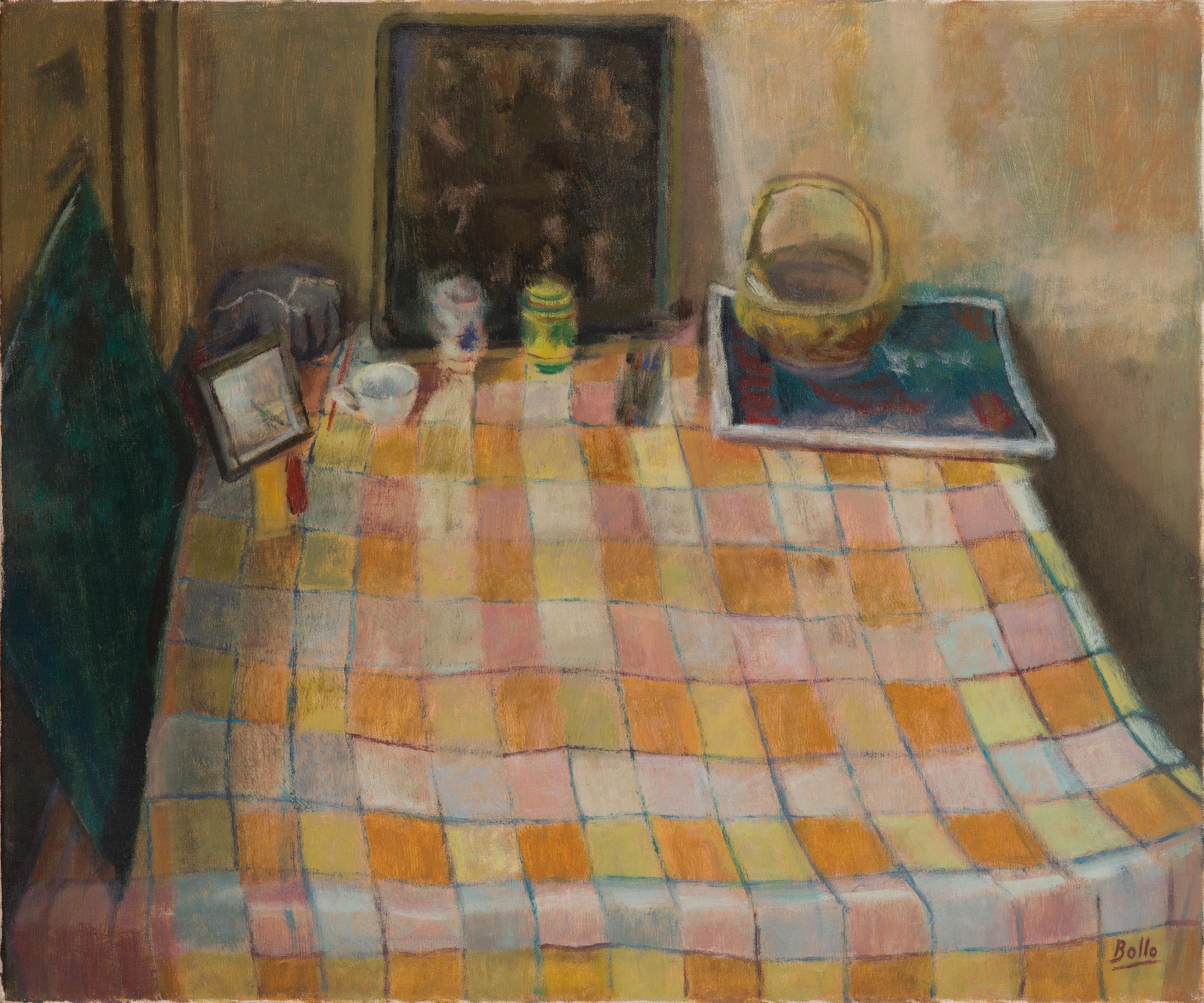 La nappe à carreaux jaunes