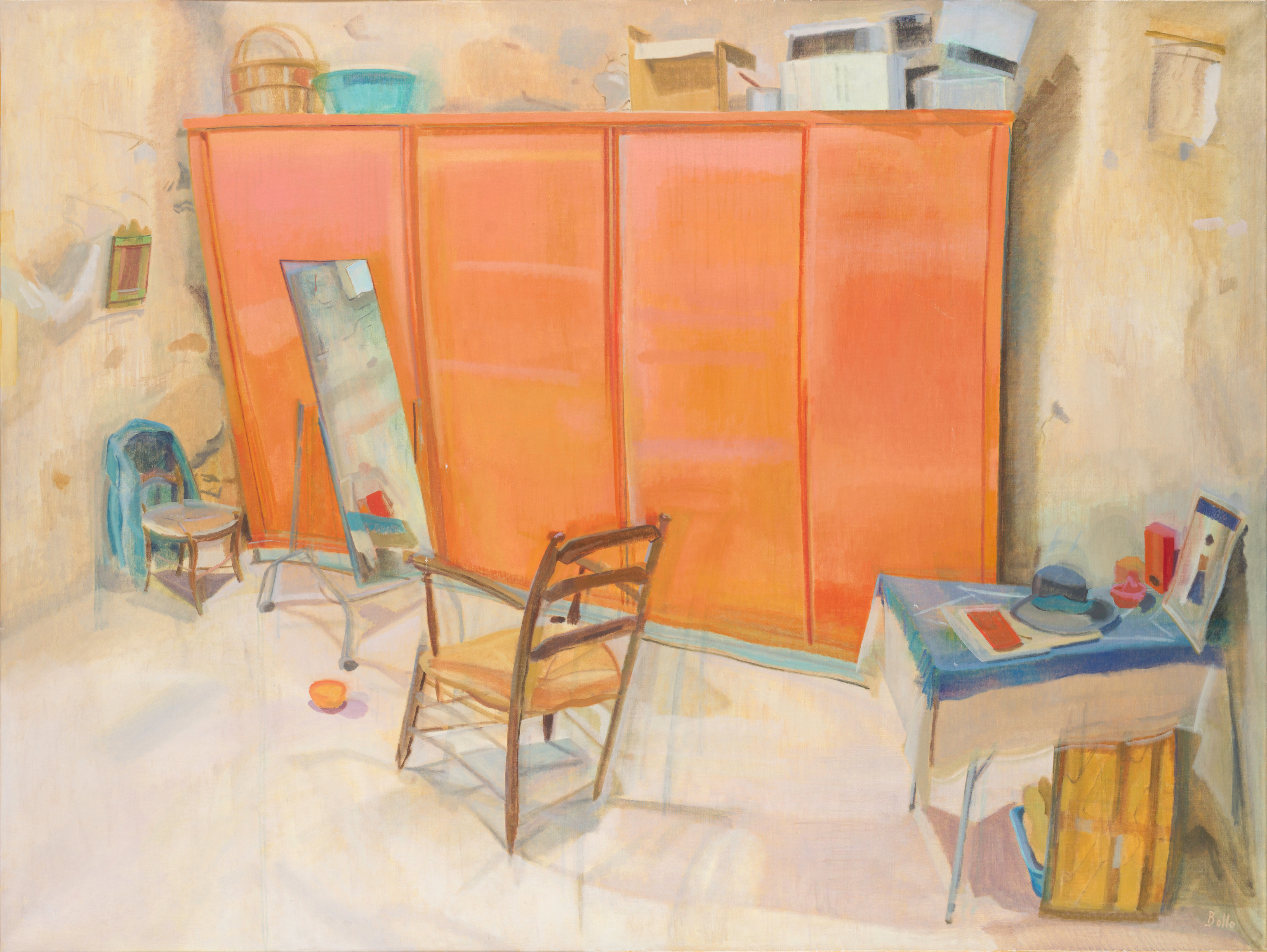 La grande armoire orange