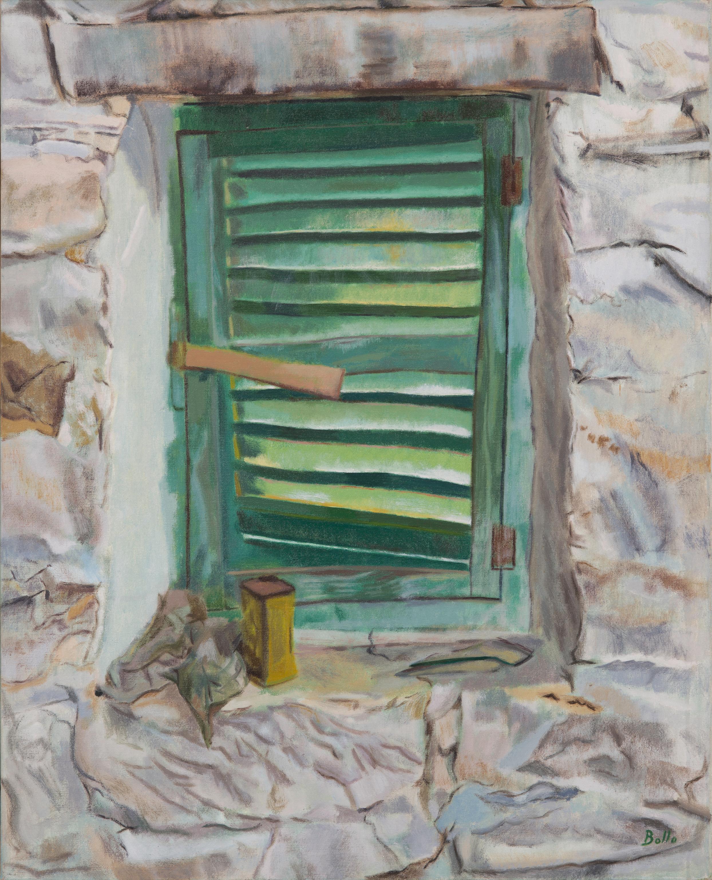 Petite fenêtre verte en Ligurie