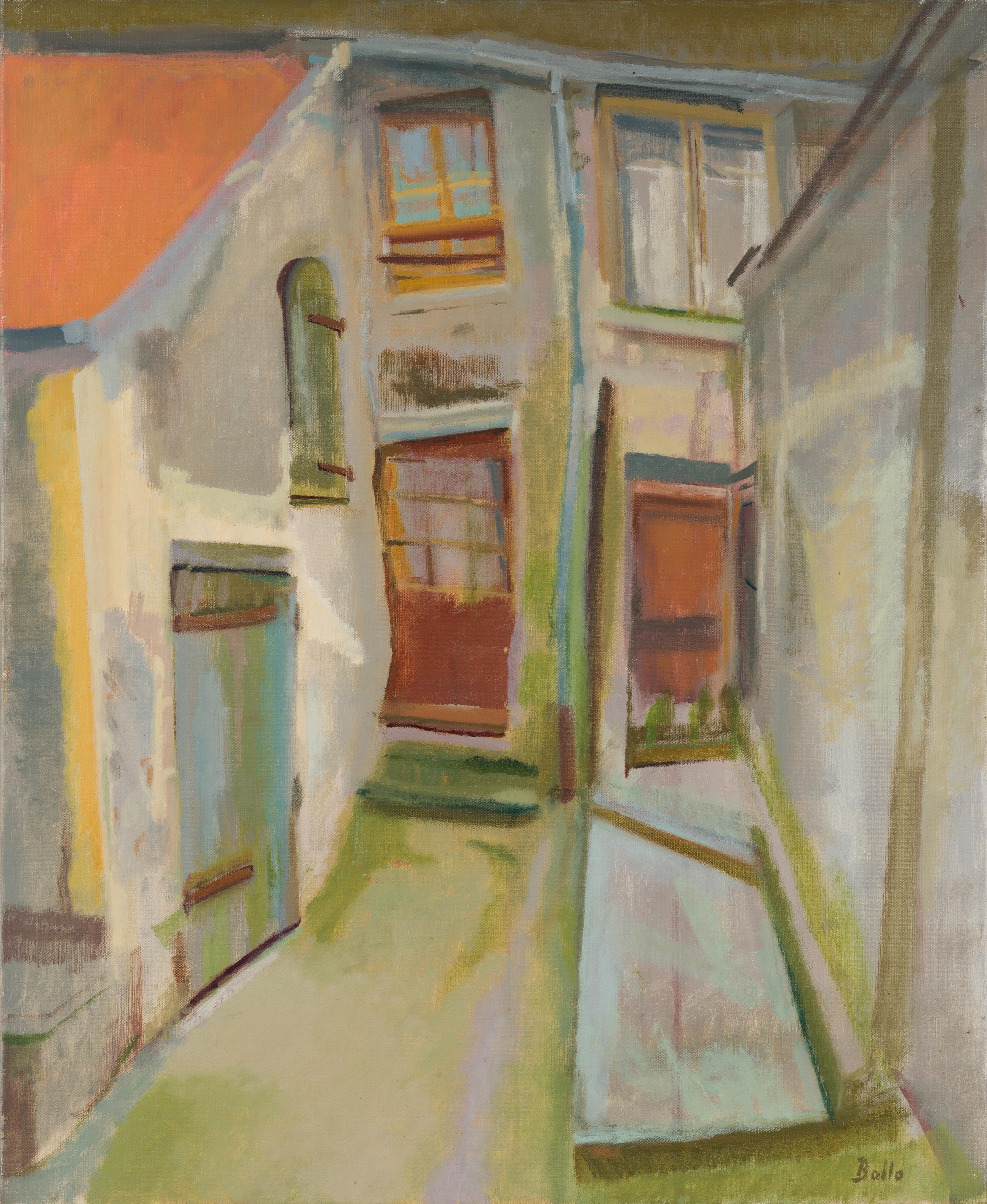 Rue de Paris, cour