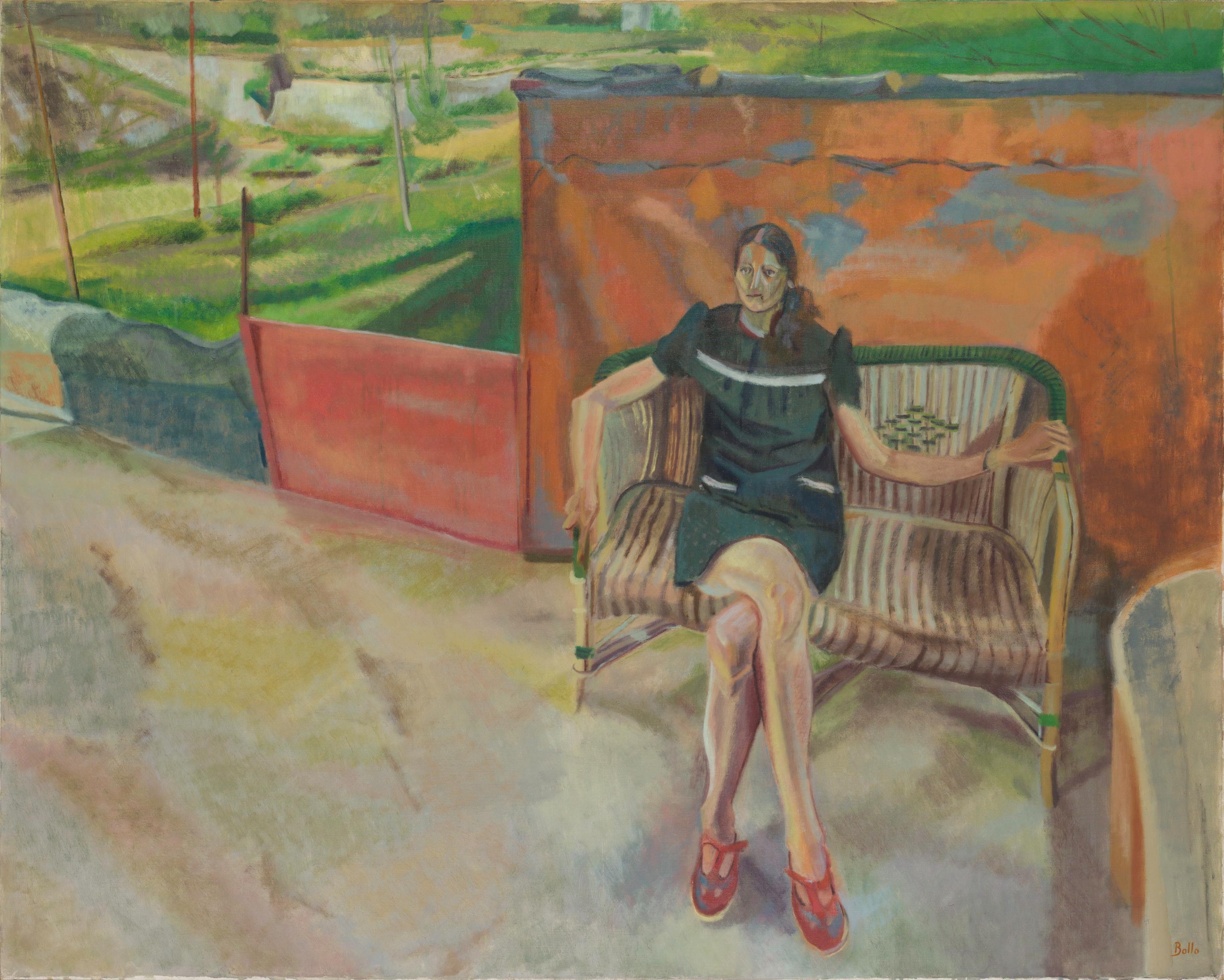La femme au fauteuil