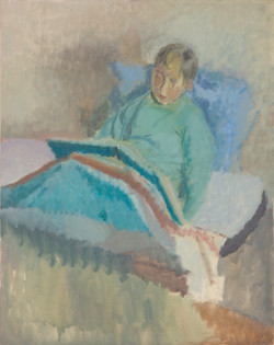 Ludovic dans son lit