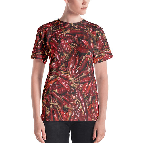 """Women's T-Shirt """"Hot Peppers"""""""