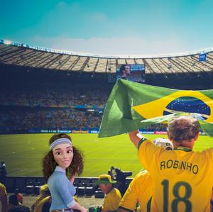 Ole Ole Ole! Go Brazil!