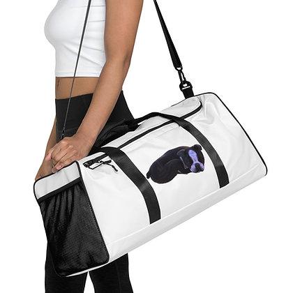Puppy Print Duffle Bag