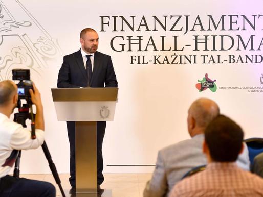 Imniedi għat-tieni senafond għat-tisħiħ tal-ħidmakulturali li ssir mill-każini tal-banda