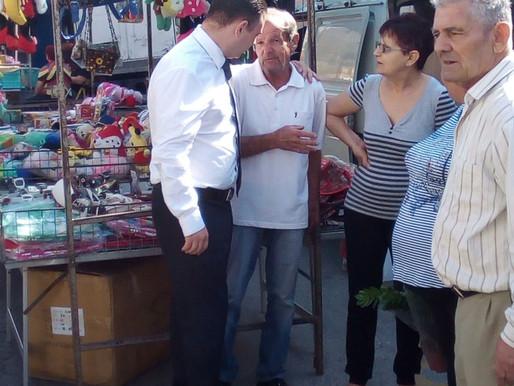 Il-Ministru Owen Bonnici iżur il-monti ta' Birżebbuġa