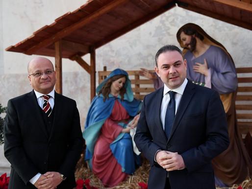 Inawgurat il-Presepju fil-Belt Valletta