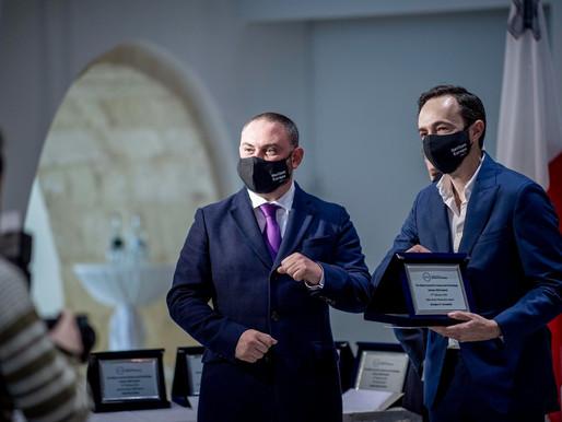 Il-Ministru Bonnici jqassam il-Malta Horizon 2020 Malta Awards