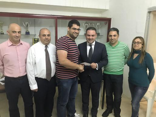 Donazzjoni lill-klabb tal-futbol ta' Marsaskala