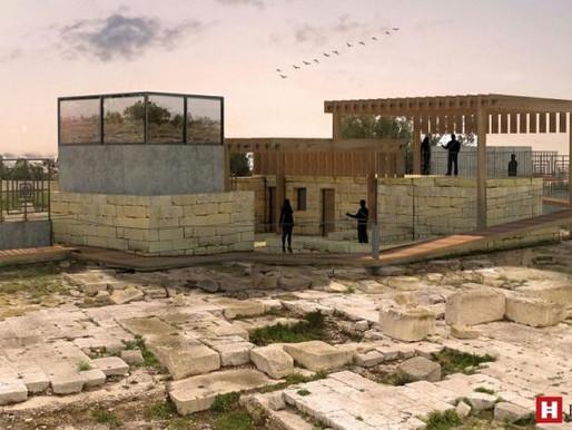 Pjan għal Ċentru tal-Viżitaturi fis-sit arkeoloġiku f'Tas-Silġ