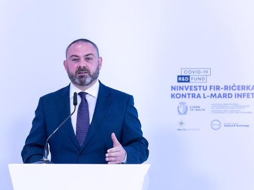 Investiment ta' iktar minn €3.5 miljuni għal progetti ta' ricerka fil-qasam tal-mard infettiv