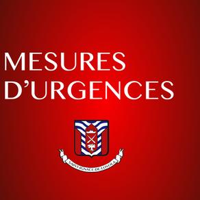 Formulaire pour les mesures d'urgences