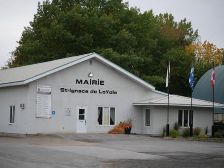 Fermeture du bureau municipal