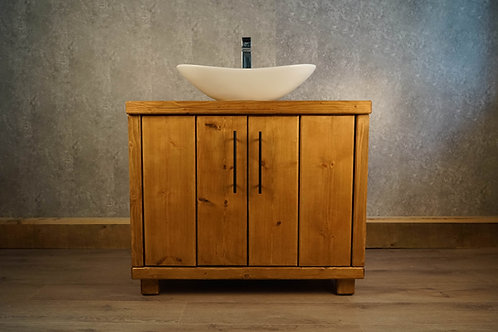 Hand-Crafted 4 Double Door Wash Stand /Vanity Unit - Made To Order