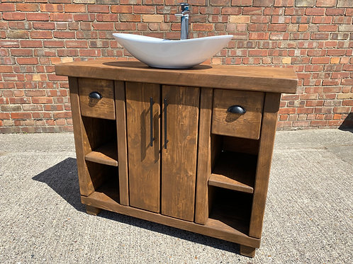 Hand-Crafted Premium Vanity Unit / Wash Stand - Made To Order